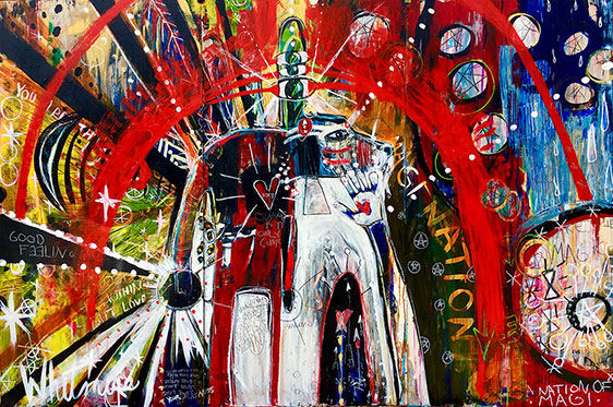 IMagiNation Shamanic Art Sarah Whitmire 562x373